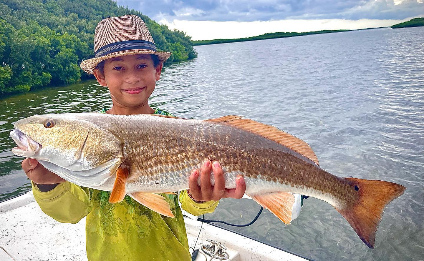 A picture of Crystal River Fishing Charters Crystal River Redfish Run August 2021