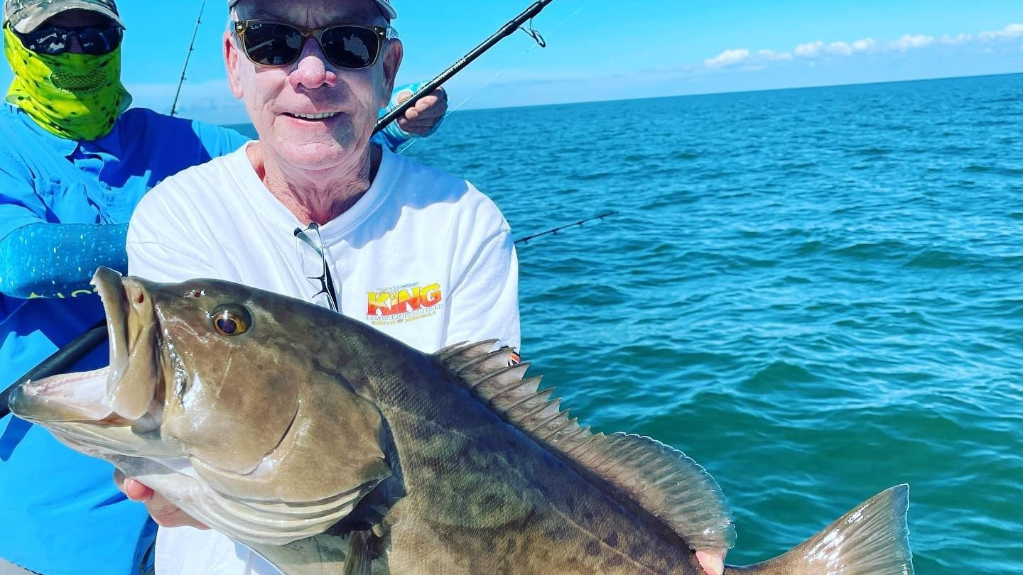 A picture of Crystal River Fishing Charters Inshore Grouper Fishing