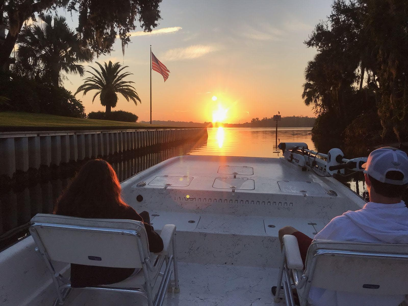 Enjoy a private sunset river cruise along the beautiful waters of the Crystal River area. We start our cruises approximately 90 minutes before sunset to take a scenic tour of Kings Bay where we can see pelicans, white ibis's, ospreys, bald eagles, wild boar, otters, racoons, tarpon and everyone's two favorites, Manatees and Dolphins. This time of day is when nature seems to come alive bringing animals of all kinds out to play. Most of the boat traffic from the day has subsided and makes for a great time to be on the water.